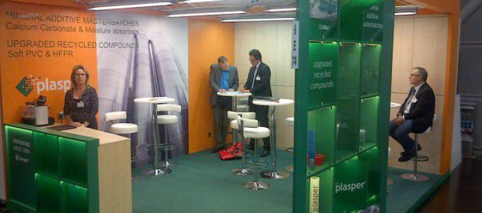 Plasper participates activelly with a booth at K Fair at Düsseldorf